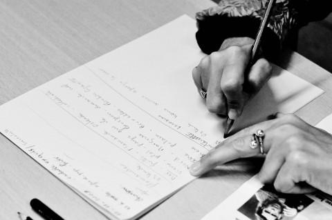 Les ateliers d'écriture en images