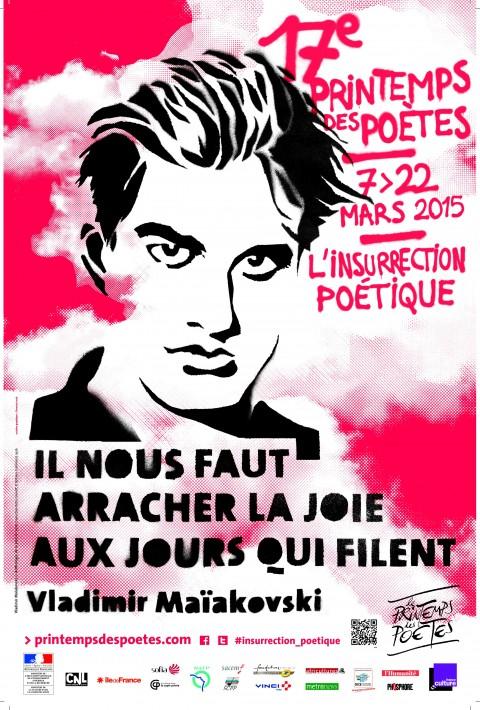 Printemps des poètes  : vos poèmes sont en ligne!