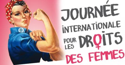 15 titres pour la journée internationale de lutte des femmes pour l'égalité des droits