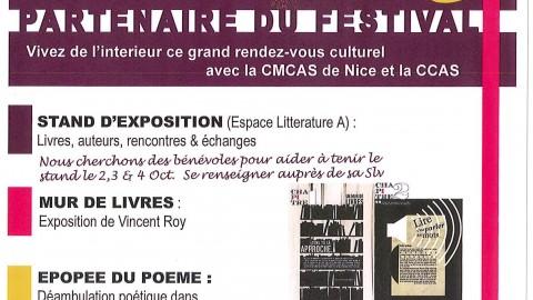 Festival du Livre de Mouans-Sartoux 2, 3 et 4 octobre 2015