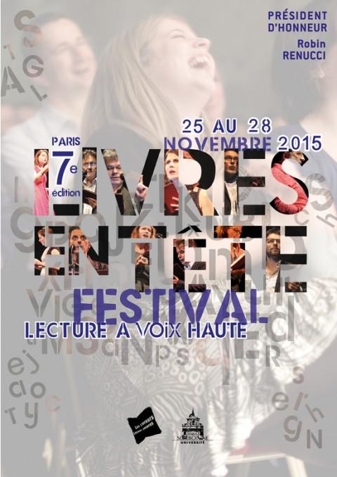Festival Livres en Tête édition 2015