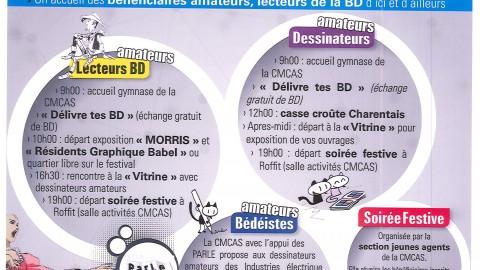 Journée Découverte : 43ième Festival de la BD d'Angoulême : Programme en ligne !