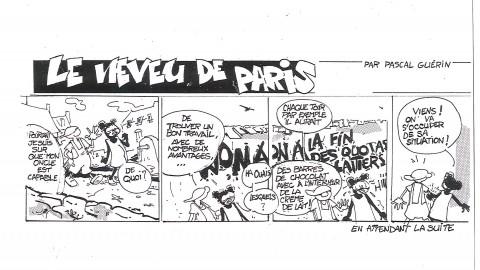 Bédéiste Amateur : Pascal GUERIN : Volet n°4 ! En attendant la suite….