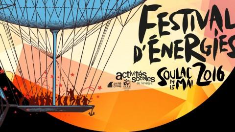 Les PARLE seront au Festival d'Energies 2016