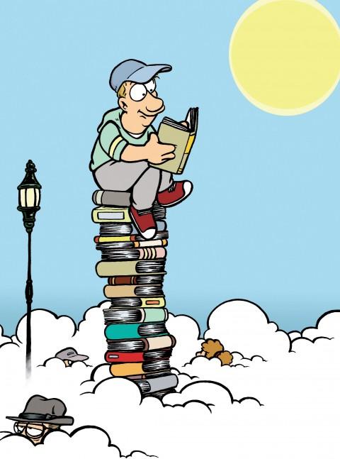 Cinq livres d'auteur.e.s bénéficiaires dans la dotation nationale lecture 2017